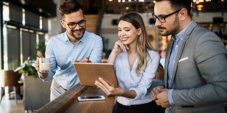 People meeting social communication business brainstorming teamwork concept